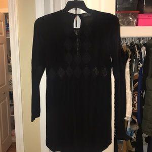 ASTR black lace dress